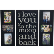 3-pc. Plaque and Collage Picture Frame Set