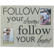 Wall Collage Picture Frame - Follow Your Dreams