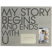 2-Opening Wall Plaque Picture Frame - My Story