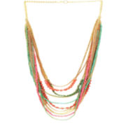 Decree® Row Seedbead Necklace