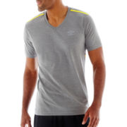 Umbro® Heathered V-Neck Tee