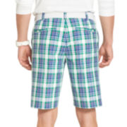 IZOD® Golf Plaid Shorts