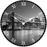 Brooklyn Circular Wall Clock