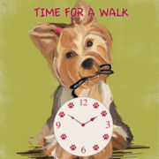 Doggy Wall Clock