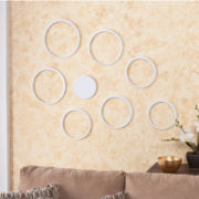 Set of 8 Circle Wall Sculpture