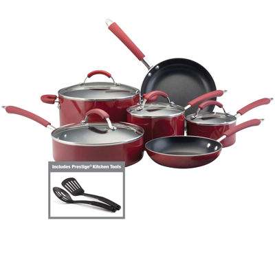 Farberware Millennium 12 pc Porcelain Nonstick Cookware Set