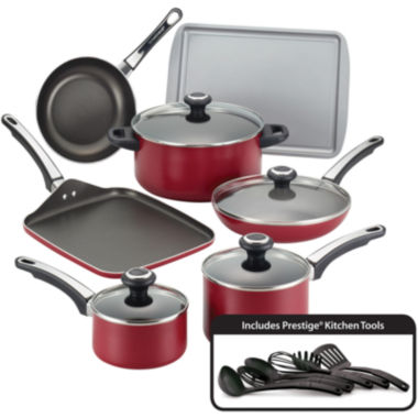 jcpenney.com | Farberware® High Performance 17-pc. Nonstick Cookware Set
