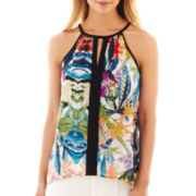 nicole by Nicole Miller® Floral Print Tank Top