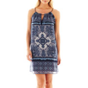 MNG by Mango® Bandana Print Dress
