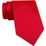 Stafford® Woven Stripe Silk Tie