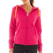 Reebok® Full-Zip Fleece Hoodie