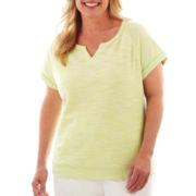 Made For Life™ Short-Sleeve Sweatshirt - Plus