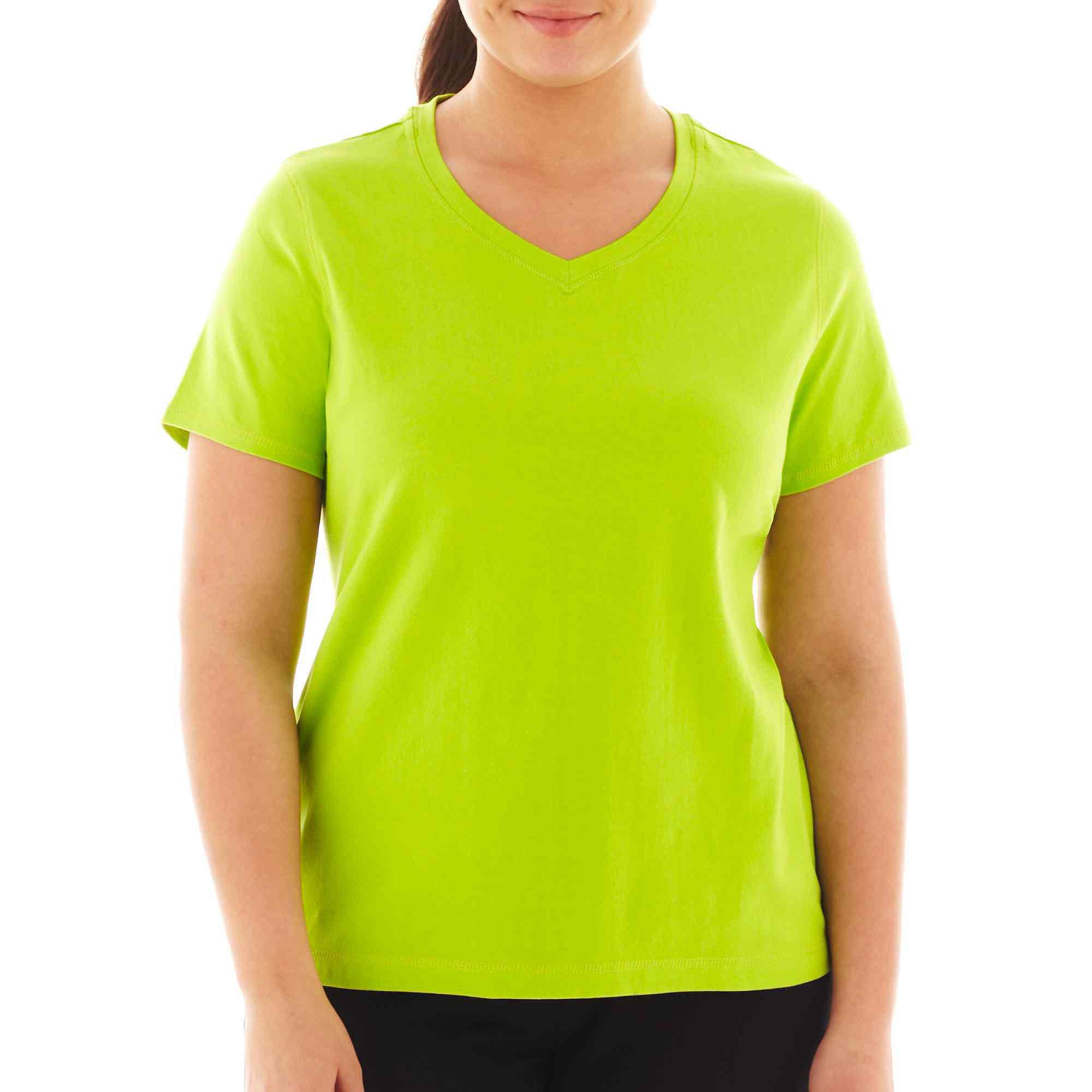 Spalding Short-Sleeve Sports T-Shirt - Plus