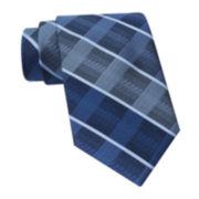 Claiborne® Faded Plaid Tie