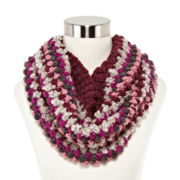 Mixit™ Bubble-Stitch Cowlneck Scarf