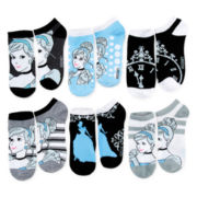 Disney 6-pk. Cinderella No-Show Socks
