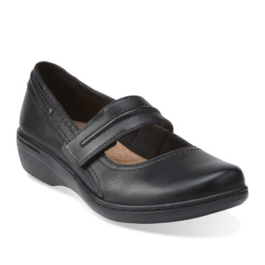 jcpenney.com | Clarks® Evianna Leather Mary Janes