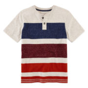 Arizona Short-Sleeve Henley - Boys 8-20