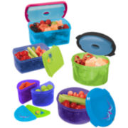 Fit & Fresh® 14-pc. Kids Lunch Container Set