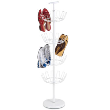 jcpenney.com | Honey-Can-Do® 4-Tier Revolving Shoe Tree