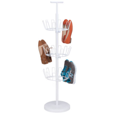 jcpenney.com | Honey-Can-Do® 3-Tier Revolving Shoe Tree - White