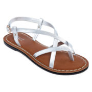 Mixit™ Strappy Asymmetrical Sandals