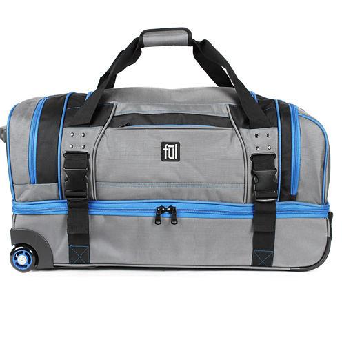 """FUL® Streamline 30"""" Soft-Sided Rolling Duffel Bag"""