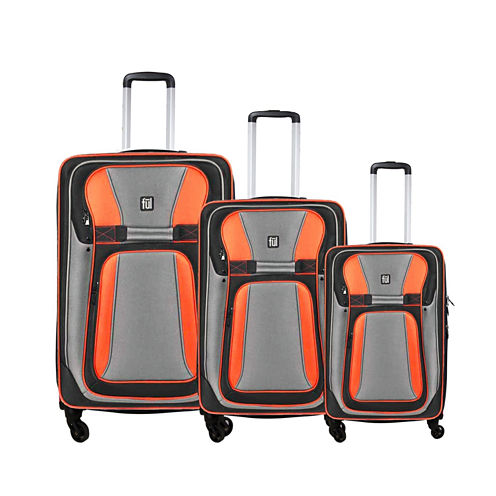 FUL® Delancey 3-pc. Soft-Sided Spinner Upright Luggage Set