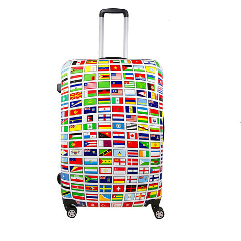 """ful Flags Hardside 24"""" Spinner Upright Luggage"""