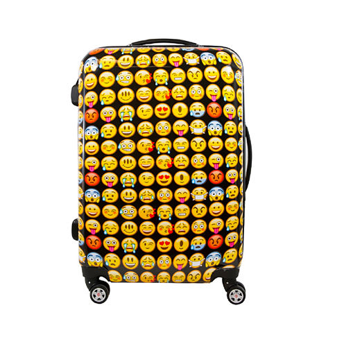 "ful Emoji Hardside 24"" Spinner Upright Luggage"
