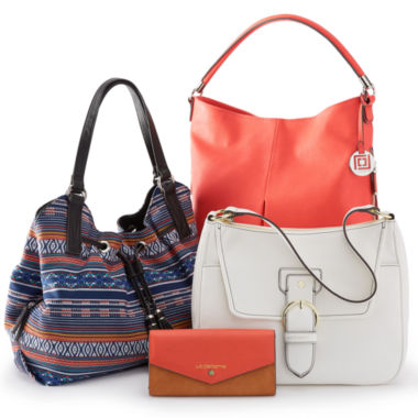 jcpenney.com | Liz Claiborne® Tribal Handbag and Wallet Collection