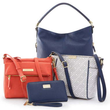 jcpenney.com | Liz Claiborne® Nautical Handbag and Wallet Collection
