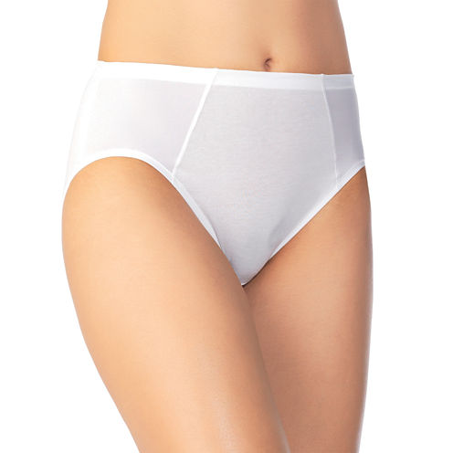 Vanity Fair® Cooling Touch Cotton High-Cut Panties - 13321