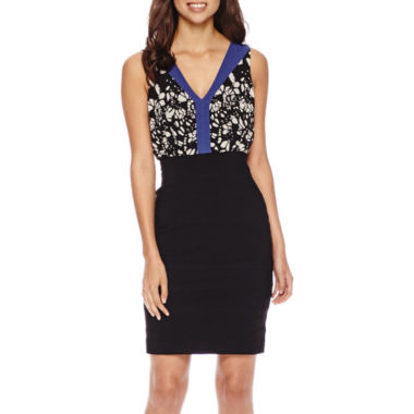 jcpenney.com | nicole by Nicole Miller® Sleeveless Blouson Dress