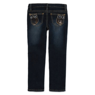 jcpenney.com | Arizona Embroidered Owl Back-Pocket Jeans - Toddler Girls 2t-5t