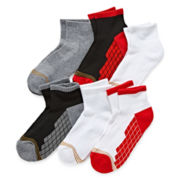 Gold Toe® 6-pk. Ultra Tec Quarter Socks - Boys