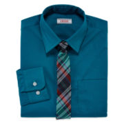 IZOD® Long-Sleeve Shirt and Tie Set - Boys 8-20