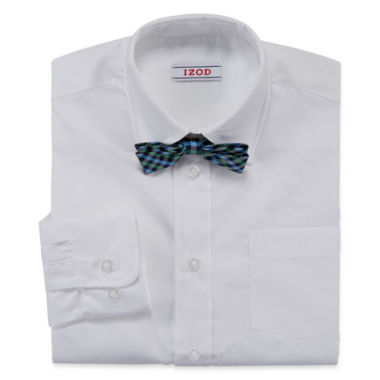 jcpenney.com | IZOD® Shirt and Clip-On Tie Set - Boys 8-20