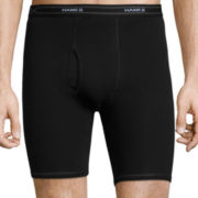 Hanes® 3-pk. X-Temp® Comfort Cool™ Long-Leg Boxer Briefs