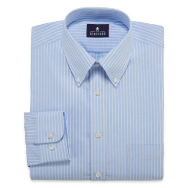jcpenney.com | Stafford® Long-Sleeve Travel Wrinkle-Free Oxford Dress Shirt - Big & Tall