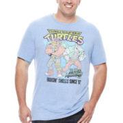 Nickelodeon™ Short-Sleeve Ninja Turtles Tee - Big & Tall