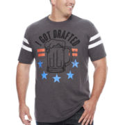 Well Worn Got Drafted Short-Sleeve Tee - Big & Tall