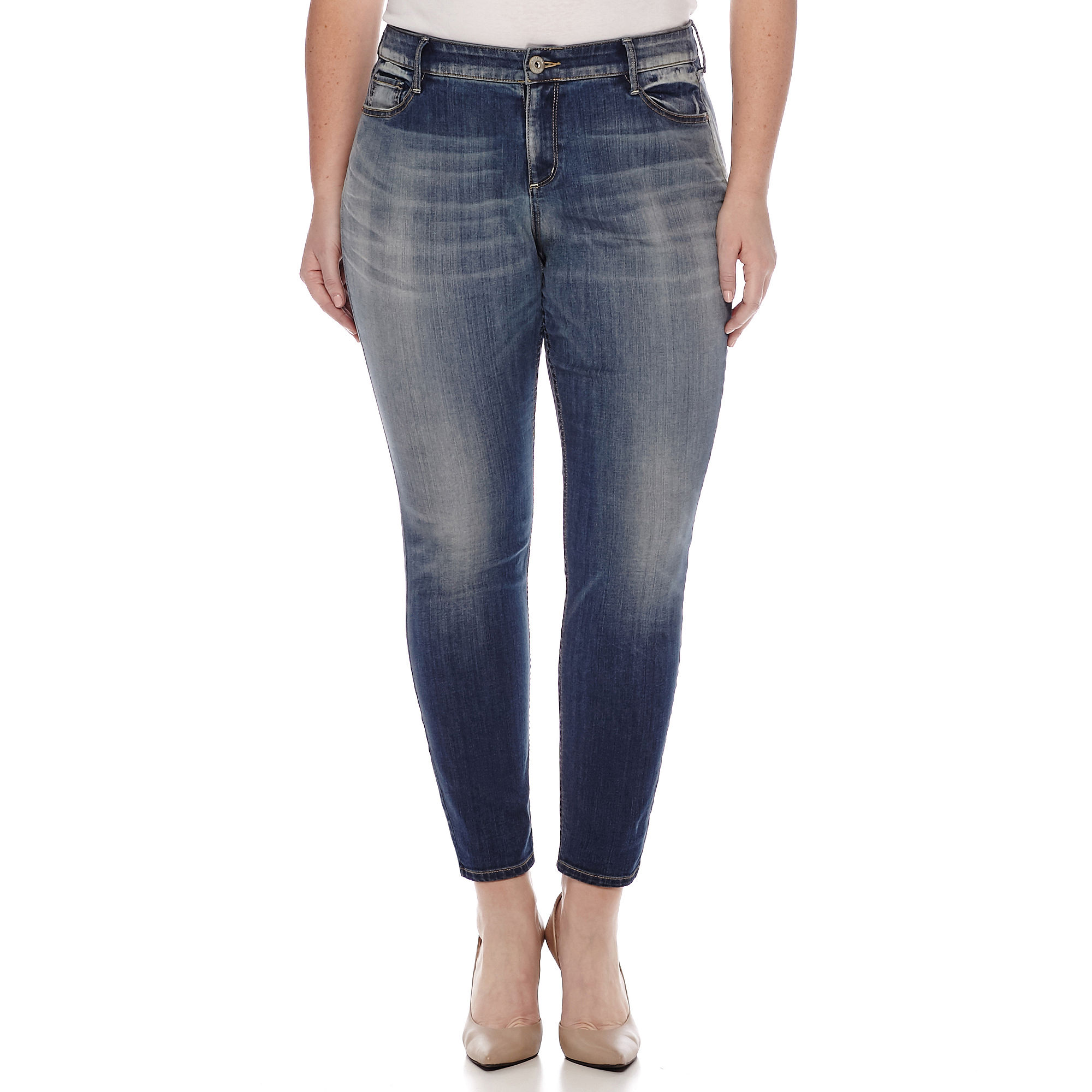 Arizona Curvy Skinny Jean-Juniors Plus plus size,  plus size fashion plus size appare