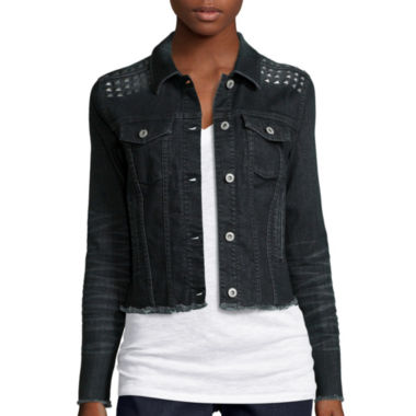 jcpenney.com | Arizona Studded Denim Jacket