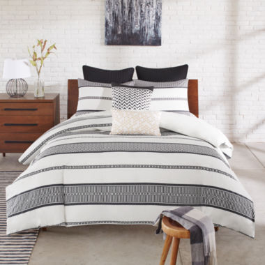 jcpenney.com | INK+IVY Kora Striped 3-pc. Comforter Set