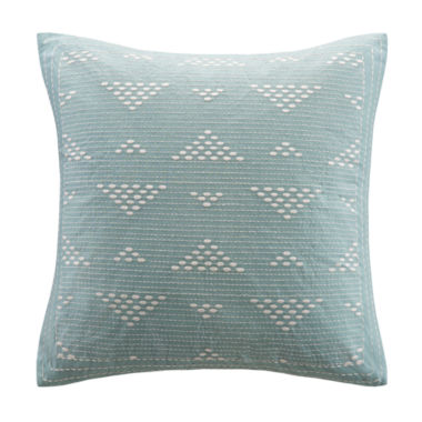 jcpenney.com | INK+IVY Cario Square Embroidered Decorative Pillow
