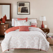 Ink+Ivy Muriel 3-pc. Coverlet Set