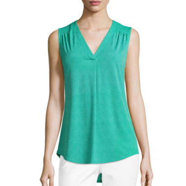 jcpenney.com | Liz Claiborne® Sleeveless Knit Top - Tall