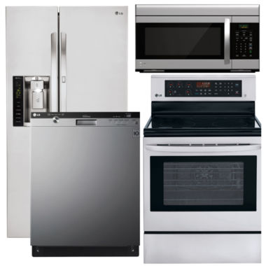 jcpenney.com | LG 4-pc. Electric Kitchen Package- Stainless Steel