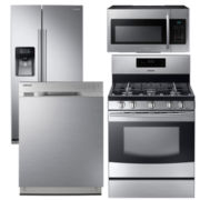 Samsung Side-by-Side Kitchen Package- Stainless Steel